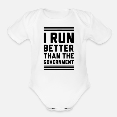 Government Governement - Organic Short-Sleeved Baby Bodysuit