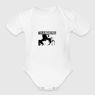 Talking Heads merch - Organic Short Sleeve Baby Bodysuit