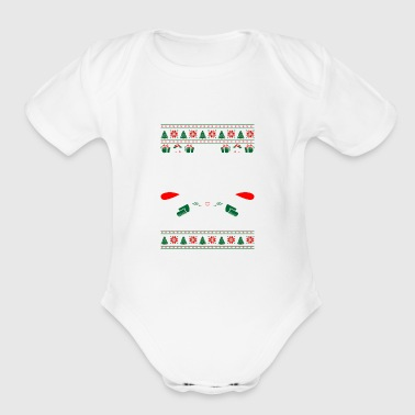 Sales Representative Im Sales Representative OfCourse Im Naughty List - Organic Short Sleeve Baby Bodysuit