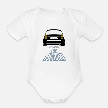 Clothes Praise the lowered - Organic Short-Sleeved Baby Bodysuit