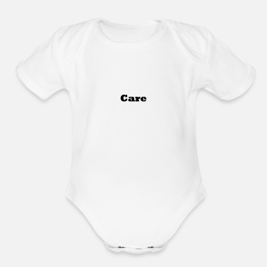 Care Care - Organic Short Sleeve Baby Bodysuit