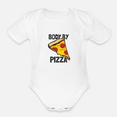 Body Body By - Organic Short-Sleeved Baby Bodysuit
