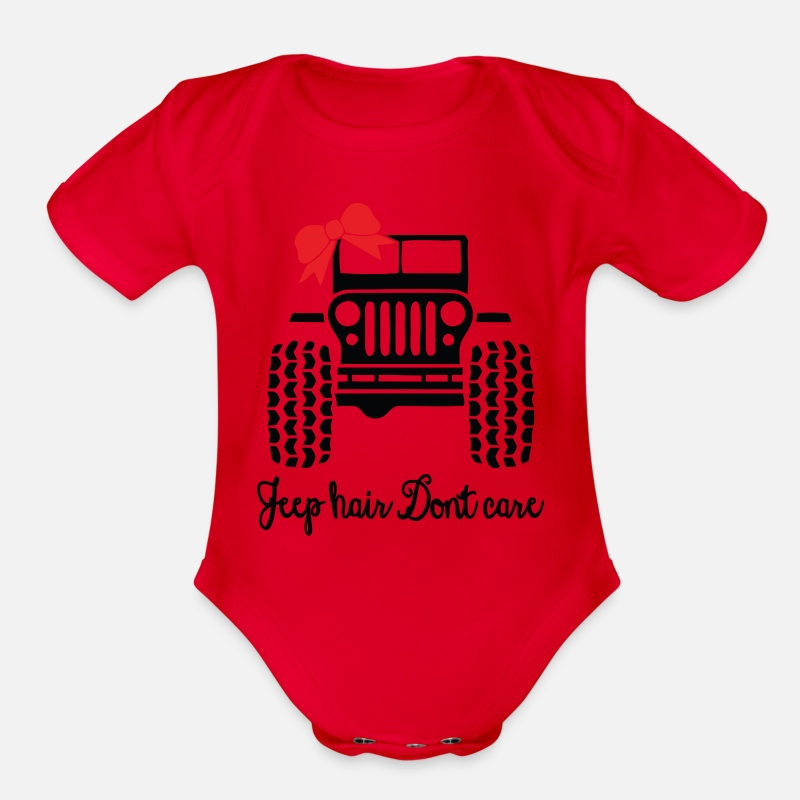 Baby Bodysuit Great outfit for summer! Infant Bodysuit Jeep Hair Don/'t Care