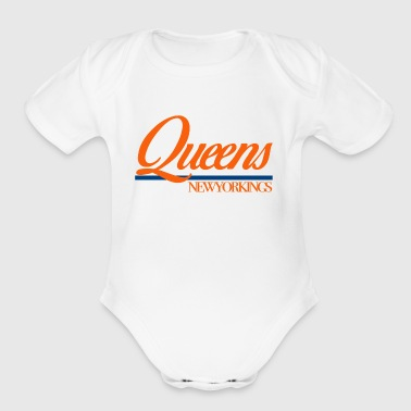 Queens NewYorKings - Short Sleeve Baby Bodysuit