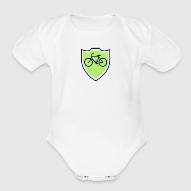 Cycle Bike - Organic Short Sleeve Baby Bodysuit