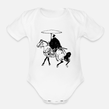 Horseman The Horseman - Organic Short Sleeve Baby Bodysuit