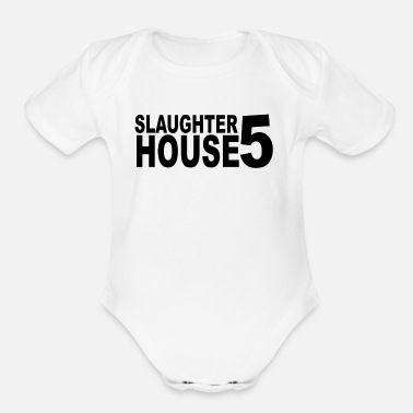 Slaughter Slaughter - Organic Short-Sleeved Baby Bodysuit