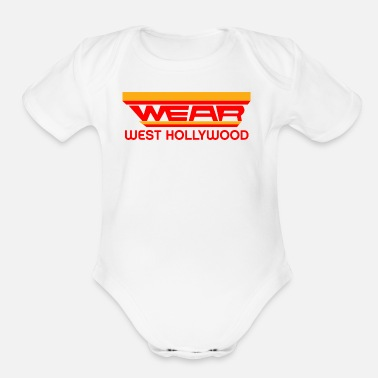 Wear wear - Organic Short-Sleeved Baby Bodysuit