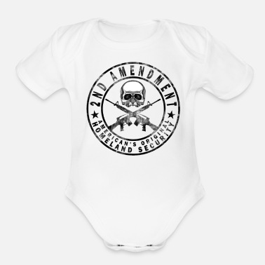 2nd Amendment 2nd amendment - Organic Short Sleeve Baby Bodysuit