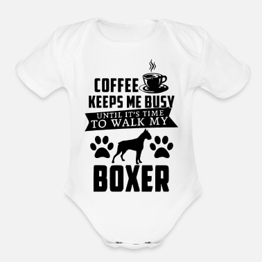 Coffe coffe - Organic Short-Sleeved Baby Bodysuit