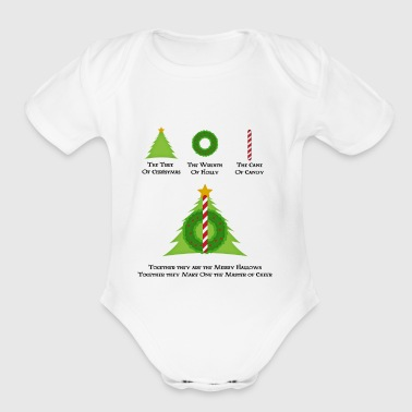 Harry Potter and the Merry Hallows - Organic Short Sleeve Baby Bodysuit
