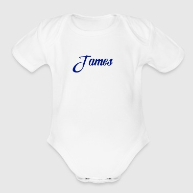 James - Short Sleeve Baby Bodysuit