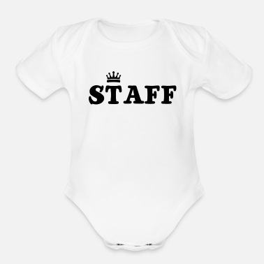 Staff Staff - Organic Short-Sleeved Baby Bodysuit