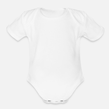 Relationship in a relationship - Organic Short-Sleeved Baby Bodysuit