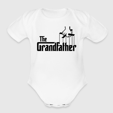 The Grandfather Father s Day - Organic Short Sleeve Baby Bodysuit
