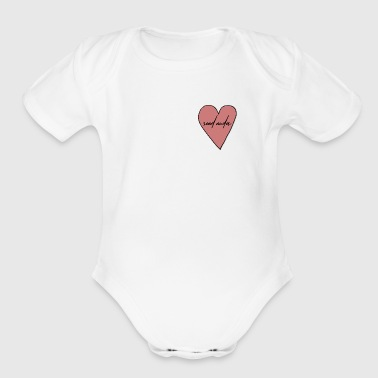 send nudes - Organic Short Sleeve Baby Bodysuit
