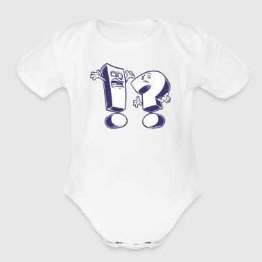 Expressions - Organic Short Sleeve Baby Bodysuit