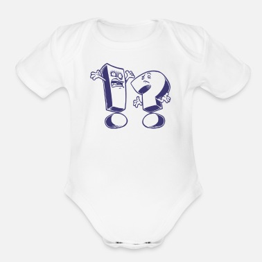 Expression Expressions - Organic Short Sleeve Baby Bodysuit