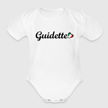 Guidette - Organic Short Sleeve Baby Bodysuit