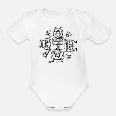 Affection Piggy Affection - Organic Short Sleeve Baby Bodysuit