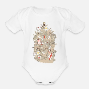 Rodent BAD TEMPERED RODENTS - Organic Short Sleeve Baby Bodysuit