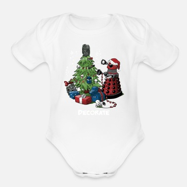 Decoration DECORATE - Organic Short Sleeve Baby Bodysuit