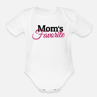 Moms Favorite Moms Favorite - Organic Short Sleeve Baby Bodysuit
