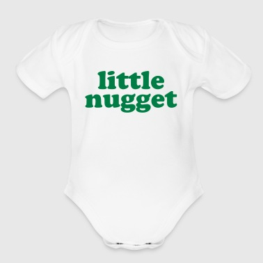Little Nugget - Short Sleeve Baby Bodysuit