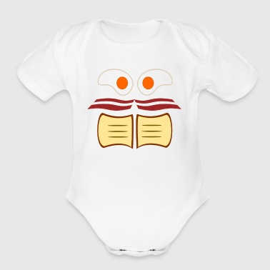 Breakfast Food - Short Sleeve Baby Bodysuit
