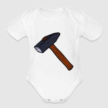 hammer - Short Sleeve Baby Bodysuit
