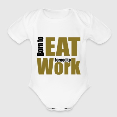 2541614 14407362 eat - Short Sleeve Baby Bodysuit