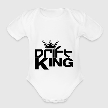 drift king - Short Sleeve Baby Bodysuit