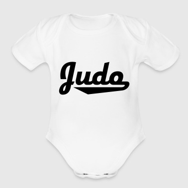 2541614 15429586 judo - Short Sleeve Baby Bodysuit