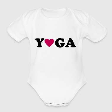 2541614 11163076 yoga - Short Sleeve Baby Bodysuit