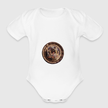Old Greece - Short Sleeve Baby Bodysuit