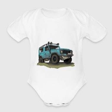 Defender - Ninety 90 - Short Sleeve Baby Bodysuit