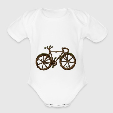 bike - Short Sleeve Baby Bodysuit