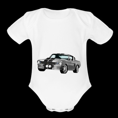 Sport Car Shirt Gift Idea - Short Sleeve Baby Bodysuit