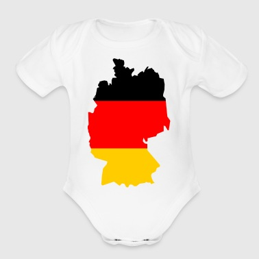 germany - Short Sleeve Baby Bodysuit