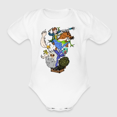 Fantastic Beasts - Short Sleeve Baby Bodysuit