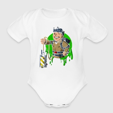 Boy Hobby - Short Sleeve Baby Bodysuit