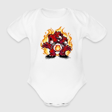 Pair Careberus Cyber System - Short Sleeve Baby Bodysuit