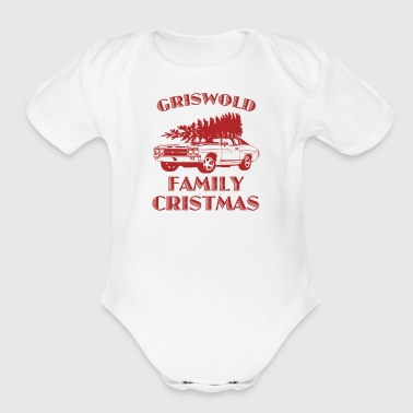 Christmas Vacation Griswold - Organic Short Sleeve Baby Bodysuit