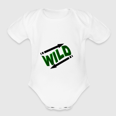 IN and OUT inside out - Short Sleeve Baby Bodysuit