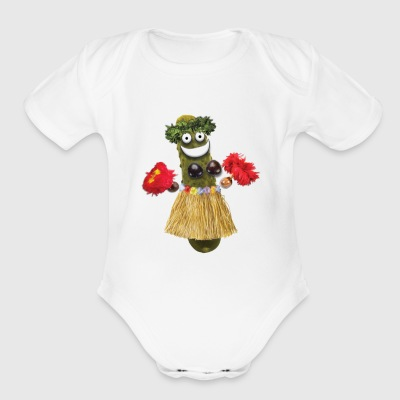 Hula Pickle - Short Sleeve Baby Bodysuit