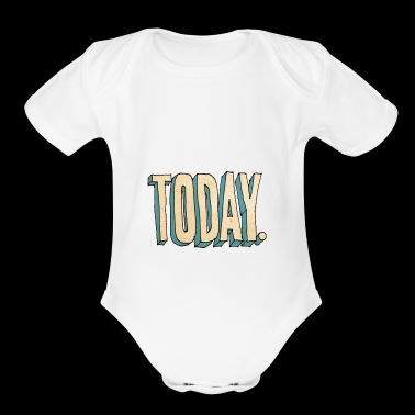 TODAY - Short Sleeve Baby Bodysuit