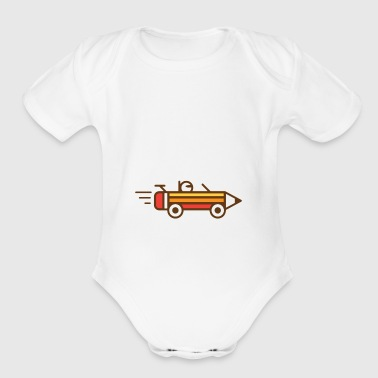 Creative Race - Short Sleeve Baby Bodysuit