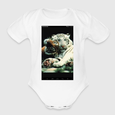 Swave - Short Sleeve Baby Bodysuit