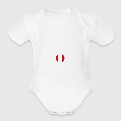 DON T NEED THERAPIE WANT GO PERU - Short Sleeve Baby Bodysuit