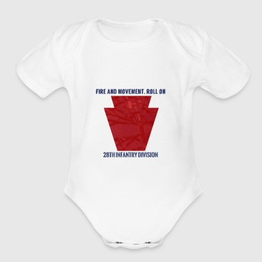 28th ID - Short Sleeve Baby Bodysuit